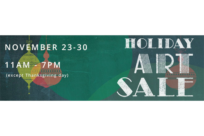 Pratt Announces the 2013 Holiday Art Sale