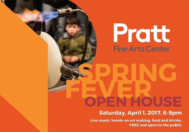 Pratt Fine Arts Center Presents its Spring Fever Open House