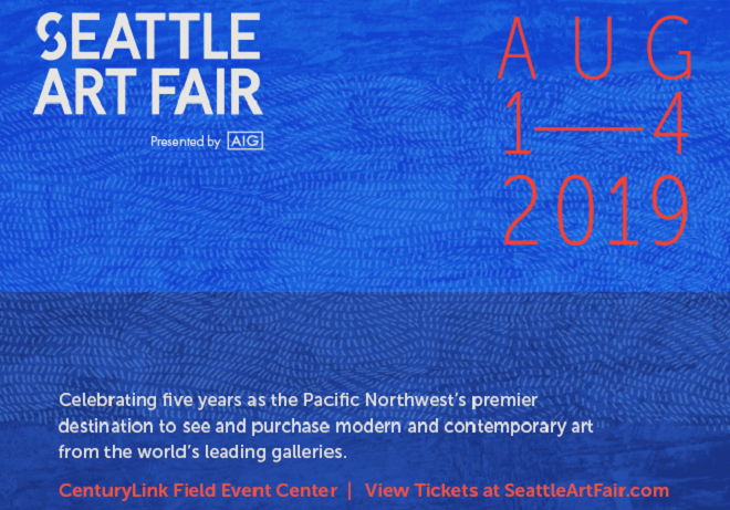 Get your tickets to the Seattle Art Fair!